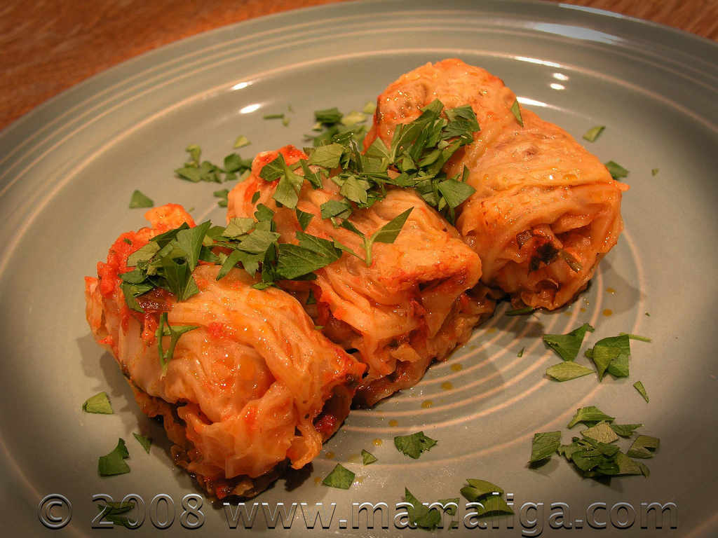 Romanian Stuffed Cabbage Leaves (Sarmale) Recipe — Dishmaps