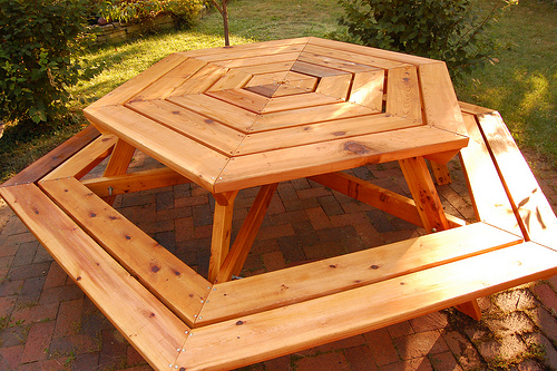 6 Sided Picnic Table Plans Pdf Woodworking
