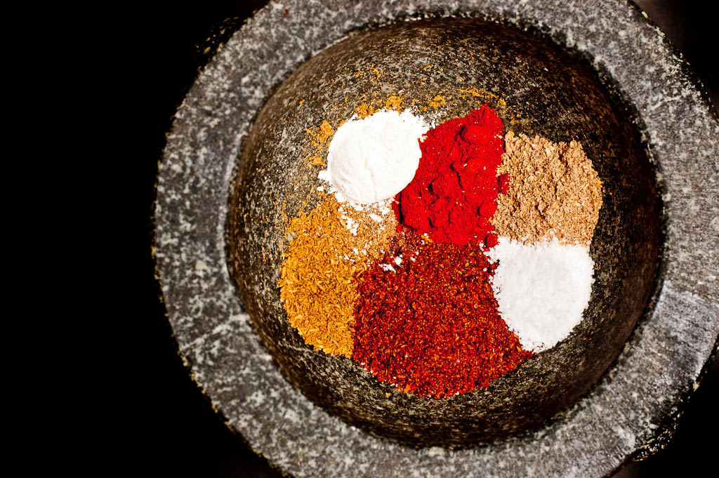 mix of taco spices