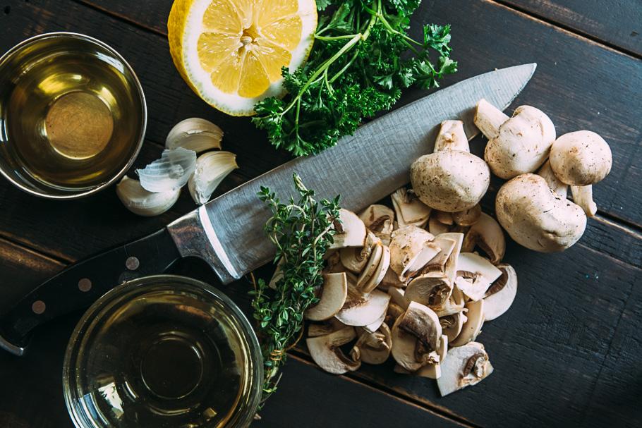 mushroom pastry ingredients