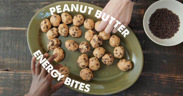 NO BAKE Peanut Butter Energy Balls Video Recipe