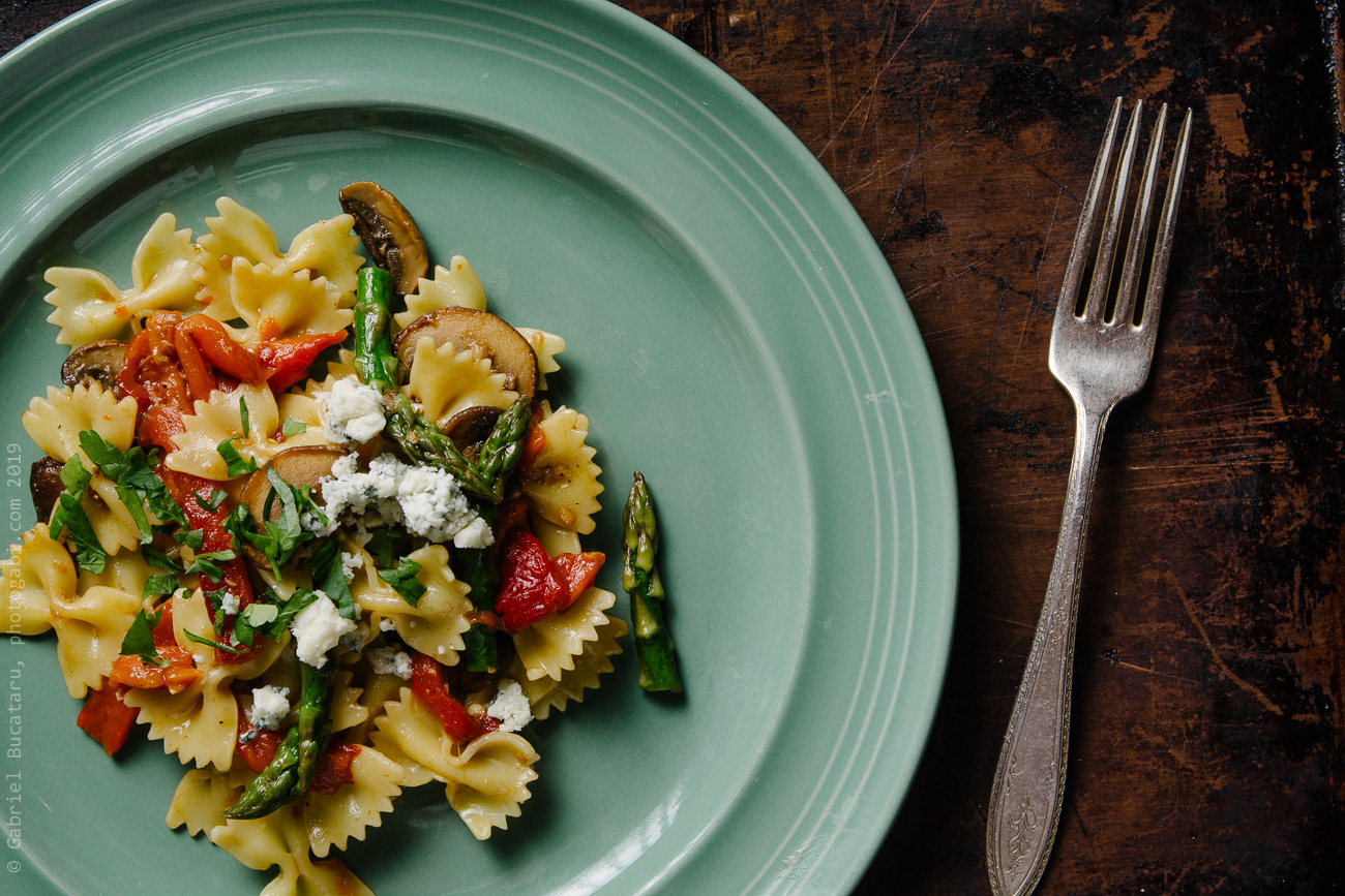 Roasted Peppers Pasta